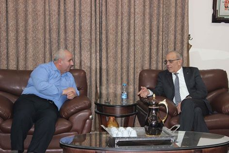 رئيس بلدية قلقيلية يلتقي وزير النقل والمواصلات