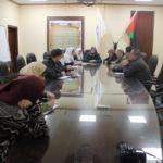 """عقد الاجتماع الختامي لطلاب مشروع النزاهة والشفافية والمساءلة """"التدقيق الاجتماعي """""""