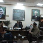 لقاء رئيس لجنة بلدية قلقيلية  مدير شركة مطاحن بن الرشيد