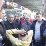 رئيس لجنة بلدية قلقيلية طارق اعمير يتفقد الاسواق