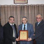 رئيس لجنة بلدية قلقيلية طارق اعمير يلتقي وفدا من جبهة النضال الشعبي