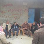 رئيس لحنة بلدية قلقيلية يلتقي وفدا من المزارعين في منطقة الحصاميص