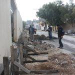 جانب من اعمال قسم الاشغال – بناء وتجهيز ارصفة