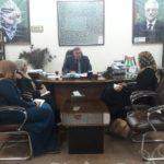 رئيس لجنة بلدية قلقيلية طارق اعمير يلتقي وفدا من مكتب سلطة جودة البيئة