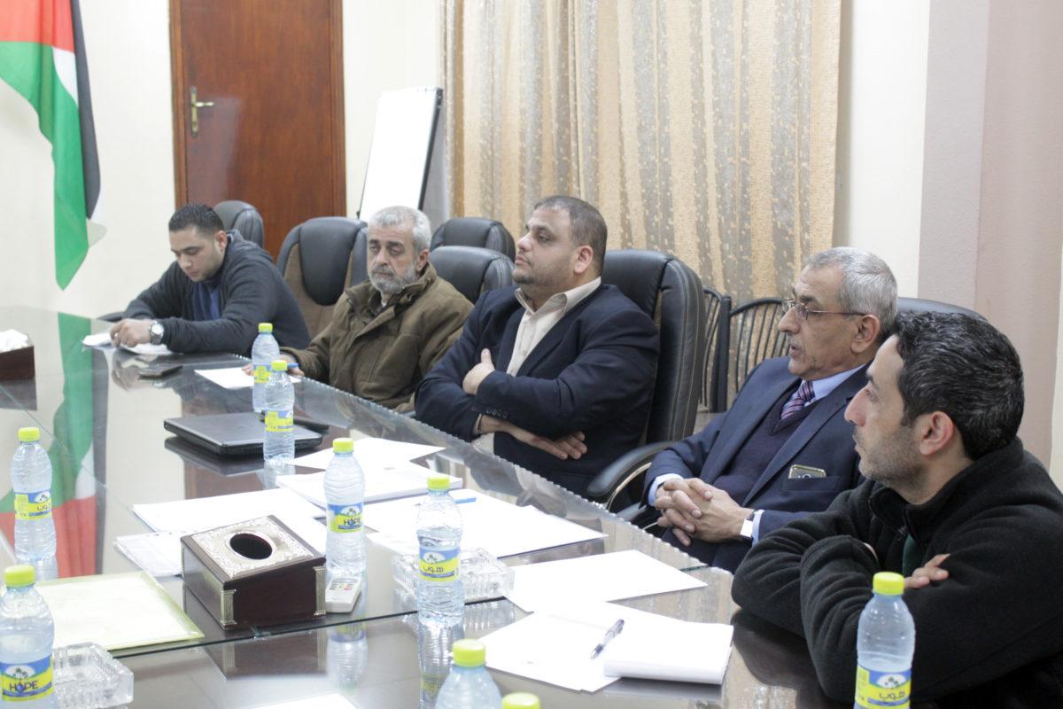 الاجتماع الثاني للجنة المتابعة والتقييم بالمشاركة لأداء البلدية