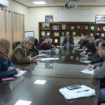 اعمير يعقد اجتماعا لرؤساء الاقسام والشعب في البلدية ويطلع على سير العمل