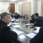 بلدية قلقيلية تعقد جلسة لفريق التخطيط الاستراتيجي للمجتمع المحلي