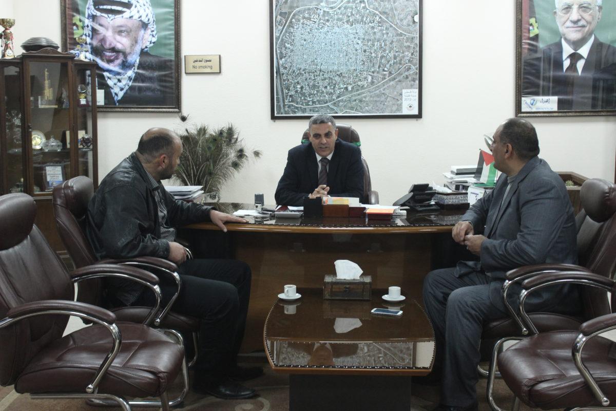 اجتماع مع مديرية الزراعة – قلقيلية