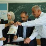 توزيع منحة الطالب المتفوق في مدارس الوكالة في المدينة