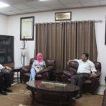 لقاء رئيس البلدية د. هاشم المصري مع مدير مديرية الصحة د. محمد الحسن