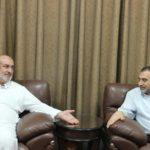 رئيس بلدية قلقيلية د. هاشم المصري يستقبل في مكتبه وفدا من مديرية اوقاف قلقيلية