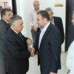استقبال وزير الحكم المحلي د. حسين الأعرج في مقر المحافظة