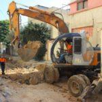 استمرار بأعمال مشروع تعبيد طرق داخلية رقم 4 – حي حسنين