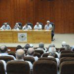 بلدية قلقيلية ووجهاء مدينة قلقيلية ينظمان اجتماعا حول تنظيم المناسبات الاجتماعية