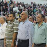 نائب رئيس بلدية قلقيلية د. باسم الهاشم يشارك في حفل تخريج الفوج العشرين من طلبة جامعة القدس المفتوحة