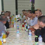 """رئيس البلدية د. هاشم المصري يلتقي السفير التركي في فلسطين ومنسق عام وكالة التعاون التركيا """"تيكا"""" في فلسطين"""