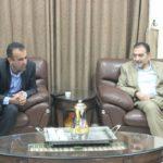 رئيس بلدية قلقيلية يلتقي وفدا من وزارة السياحة والاثار