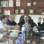 رئيس بلدية قلقيلية د. هاشم المصري يلتقي الاعلاميين العاملين في محافظة قلقيلية