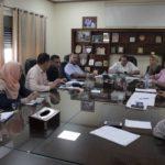 الاجتماع الاول للجنة البرتوكول في البلدية