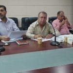 مشاركة ر.ق الصحة في البلدية د. خالد شلبي في الاجتماع الثاني لمناقشة الاستبيان الخاص ببيانات نوعية المياه