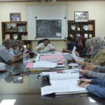 مناقشة التعديلات المقترحة على المخطط الهيكلي