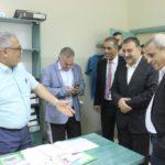 افتتاح اليوم الطبي المجاني الذي نظمته مديرية التنمية الاجتماعية ومحافظة قلقيلية