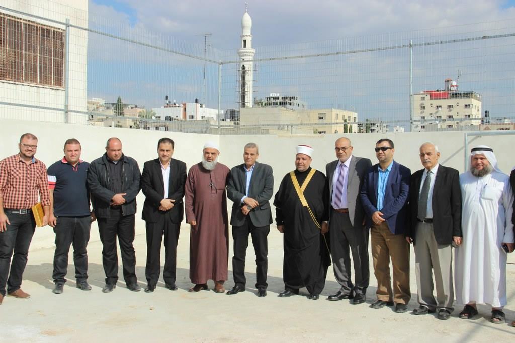 مشاركة المجلس البلدي في افتتاح توسعة مبنى مدرسة وروضة الايمان الاسلامية الجديدة