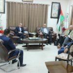 نائب رئيس بلدية قلقيلية د باسم الهاشم يلتقي وفدا من اتحاد البلديات الهولندي