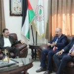 رئيس بلدية قلقيلية د.هاشم المصري يلتقي وفدا من الاتصالات الفلسطينية