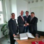 رئيس بلدية قلقيلية يختتم زيارة رسمية إلى المانيا
