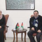 رئيس بلدية قلقيلية يستقبل وفدا من جمعية نور الله الخيرية
