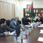 رئيس البلدية يلتقي وفد من مجلس تنظيم الطاقة