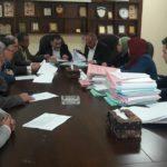 جلسة تنظيم الابنية في بلدية قلقيلية