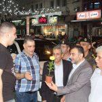جولة تفقدية لرئيس البلدية د. هاشم المصري لاسواق مدينة قلقيلية