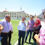 المجلس الاعلى والرياضة يزور الملعب البلدي