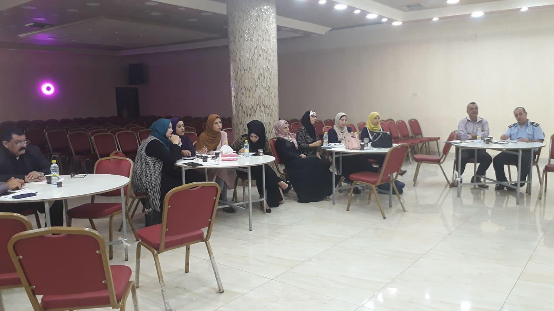 بلدية قلقيلية تشارك في ورشة تعزيز مشاركة المرأة في الانتخابات.
