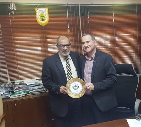 مشاركة البلدية في زيارة بلدية كفر برا