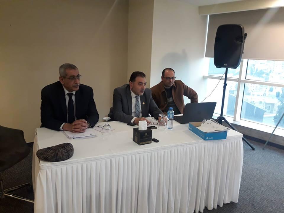بلدية قلقيلية تستعرض قصة نجاح مأسسة وحدة التنمية الاقتصادية المحلية امام وزارة الحكم المحلي