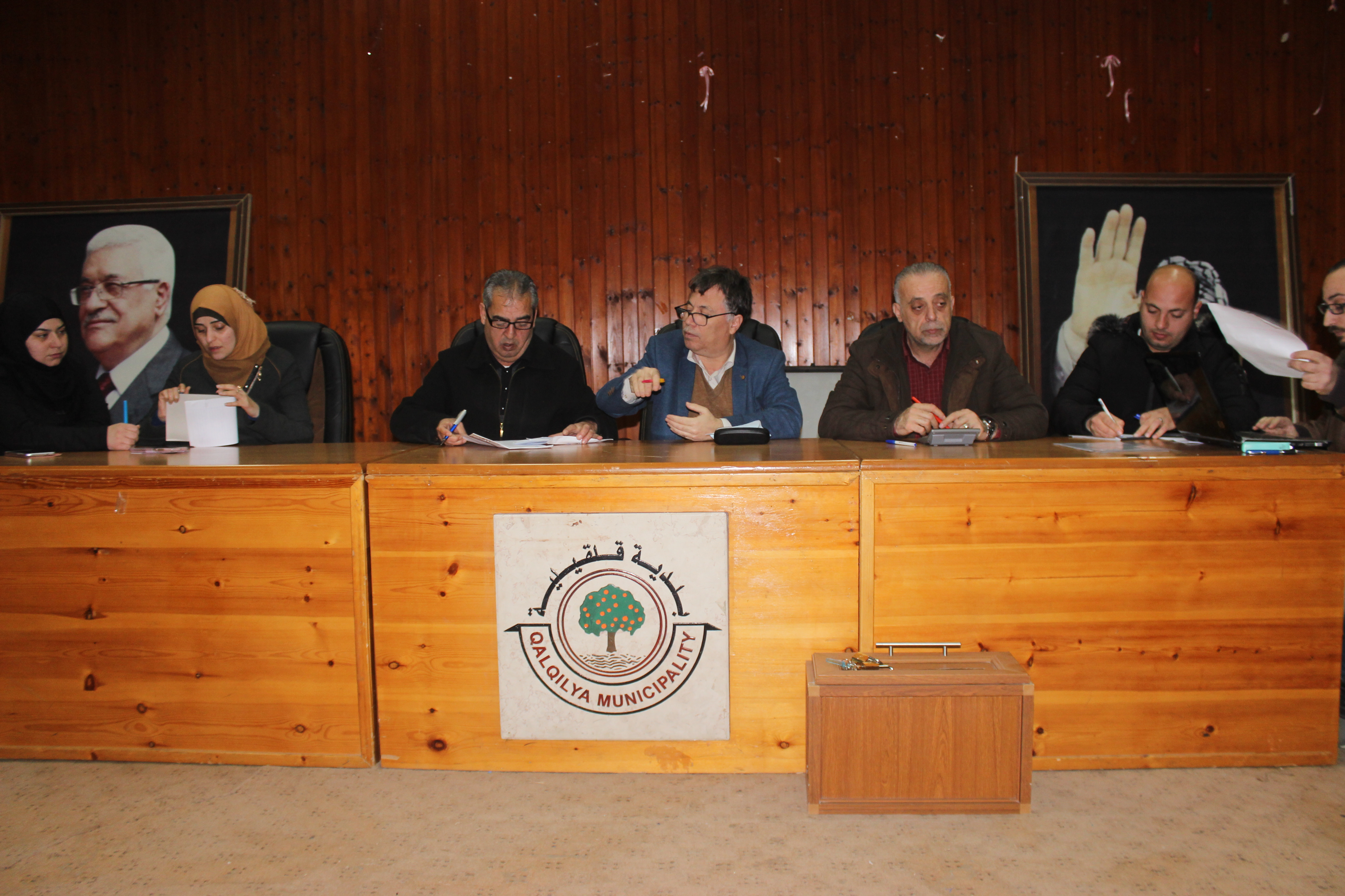 استدراج في بلدية قلقيلية