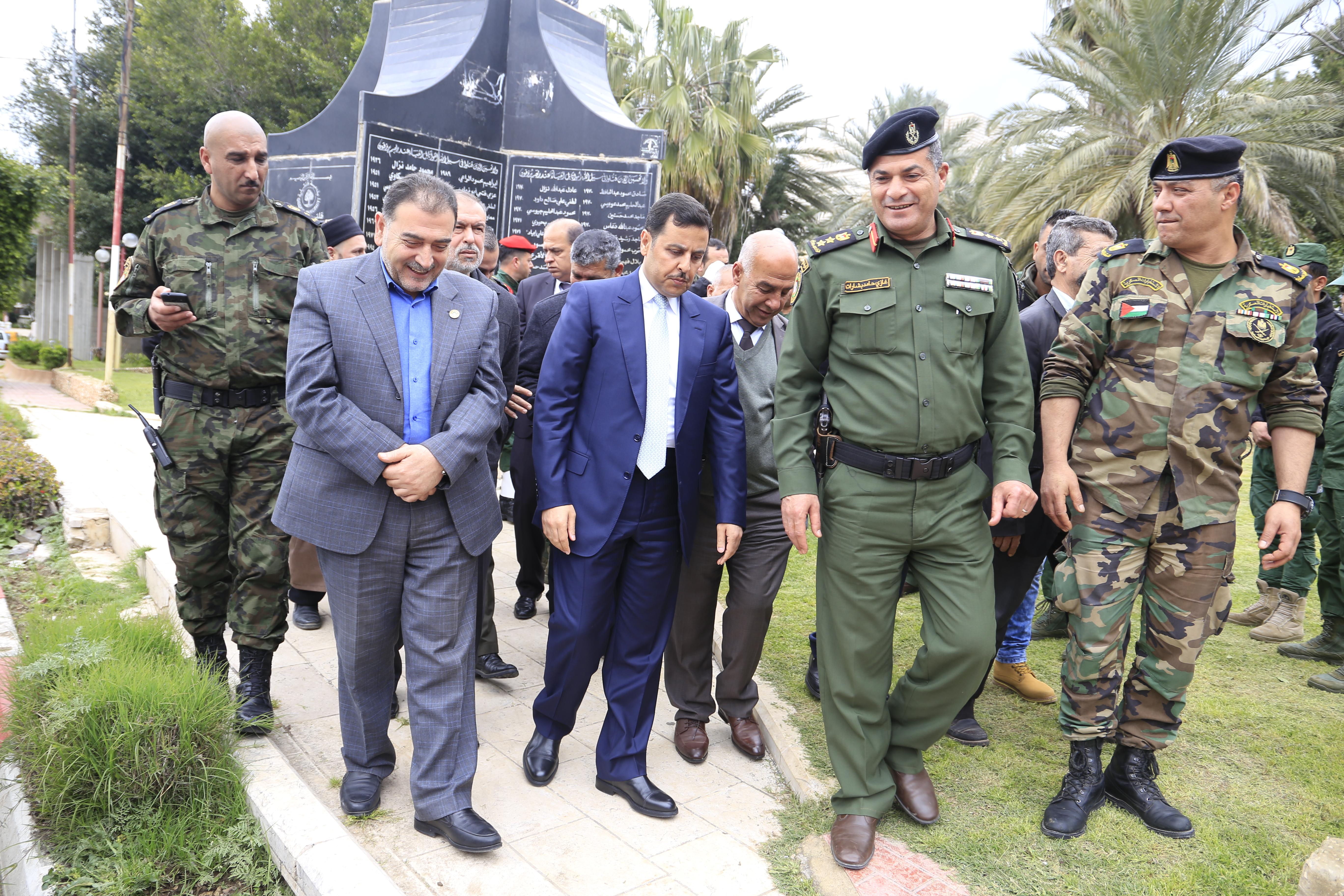 مشاركة رئيس بلدية قلقيلية د. هاشم المصري في احتفال احياء ذكرى معركة الكرامة