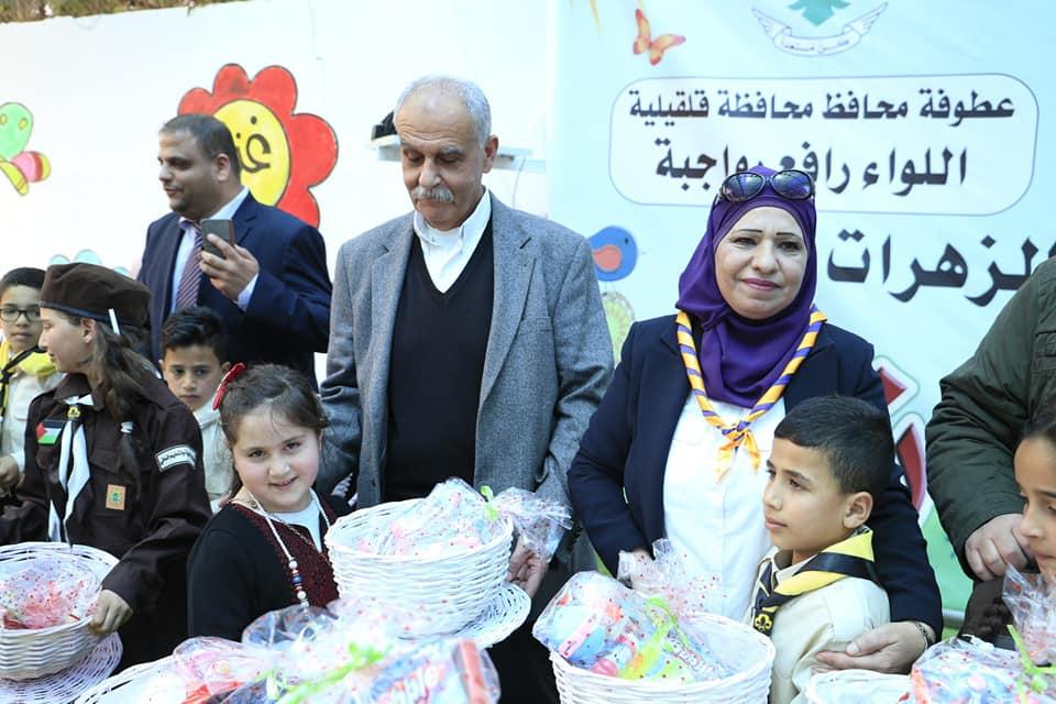 البلدية تشارك في المهرجان الكشفي بمناسبة يوم الطفل الفلسطيني