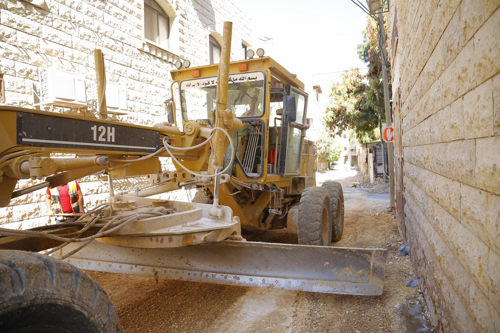 اعمال جريدر في حي القرعان