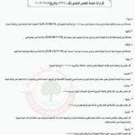 قرارات جلسة المجلس البلدي رقم (366) بتاريخ 10/12/2019