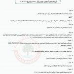 قرارات جلسة المجلس البلدي بتاريخ 17/2/2020