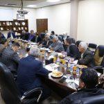 وفدا من الاتحاد الفلسطيني للهيئات المحلية يزور بلدية قلقيلية