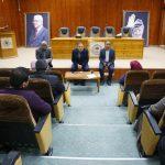 رئيس البلدية يلتقي مدراء الدوائر و الأقسام في البلدية