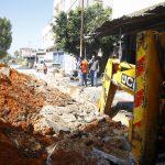 بلدية قلقيلية تباشر اعمال تأهيل شارع جلجولية