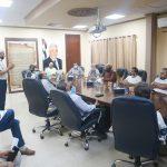 اجتماع لمناقشة مشاريع جديدة ضمن وحدة التنمية الاقتصادية المحلية