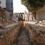 البلدية ماضية في مشروع تأهيل شبكة الصرف الصحي