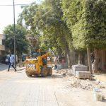 تأهيل المنطقة الجنوبية من شارع عبد الرحيم السبع (جلجولية)